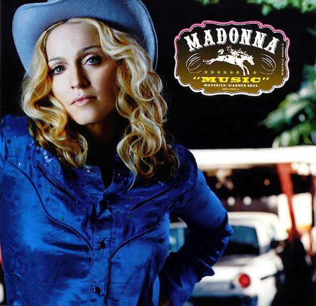 Обложка альбома (Жан-Батист Мондино, Maverick - Warner Bros. - Официальный веб-сайт Мадонны)