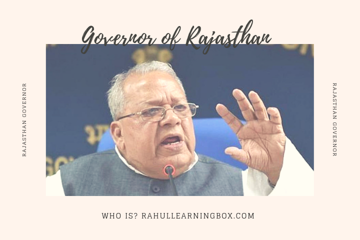 Governor of Rajasthan