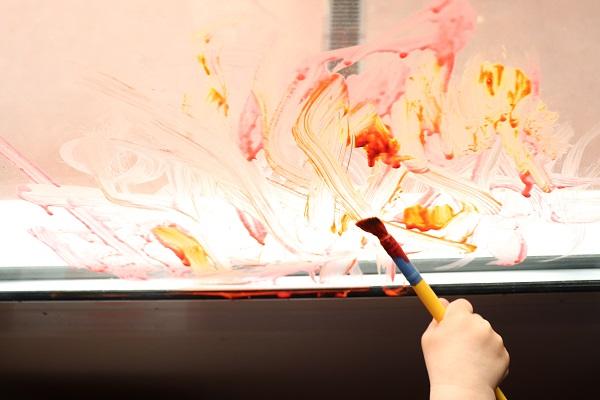 peinture pour vitres