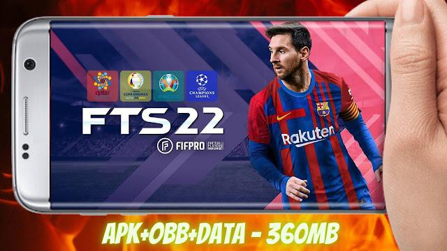 Download FTS 2022 Mod APK Obb Data Unlimited Money
