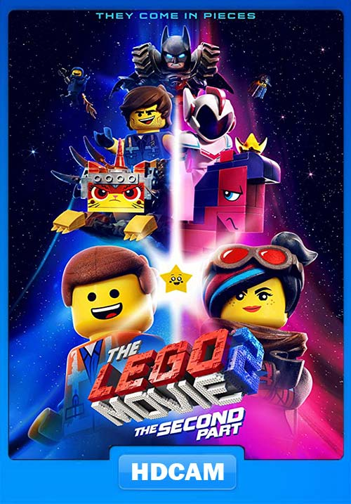 The Lego Movie 2 2019 720p HDCAM X264 | 480p 300MB | 100MB HEVC