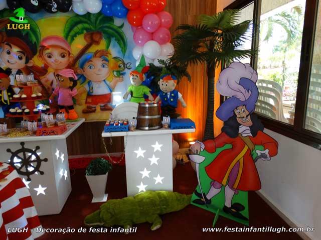 Decoração infantil Jake e os Piratas - Festa de aniversário