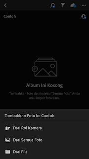 Import Preset dng Ke Lightroom Mobile Iphone