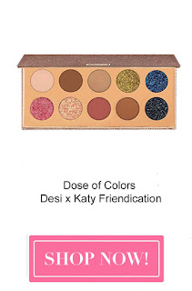 dose of colors desi x katy friendication eyeshadow