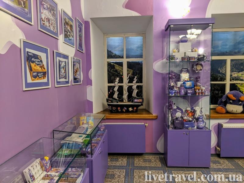 Музей шоколада в Тростянце