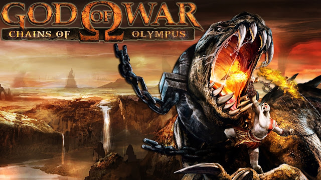 Game Adventure God of War Chains of Olympus