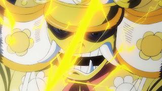 ワンピースアニメ 993話   残雪の菊の丞 お菊   ONE PIECE  KIKUNOJO OKIKU