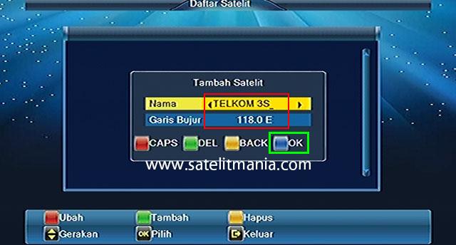 Cara Mudah Menambah Nama Satelit Di Receiver MMP Lombok