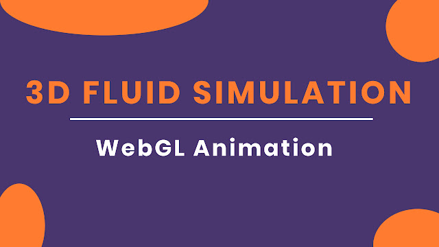 Awesome 3D Canvas Fluid Simulation Effect | Web Design Inspiration