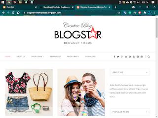 Blogstar Premium version