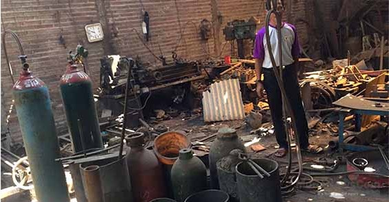 Bengkel Las Meledak di Growong Juwana, 1 Orang Tewas