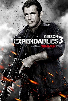 The Expendables 3 Movie Poster - Mel Gibson Fan Made