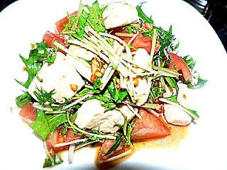 メカジキの中華サラダ