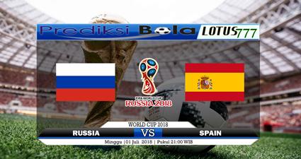 Prediksi Russia vs Spain 01 Juli 2018