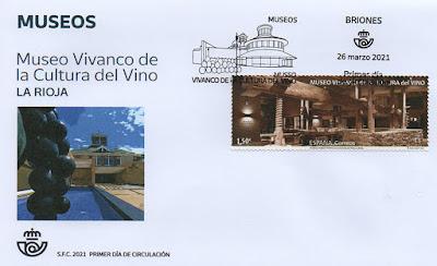 sobre, PDC, sello, museo, Vivanco, Briones, vino