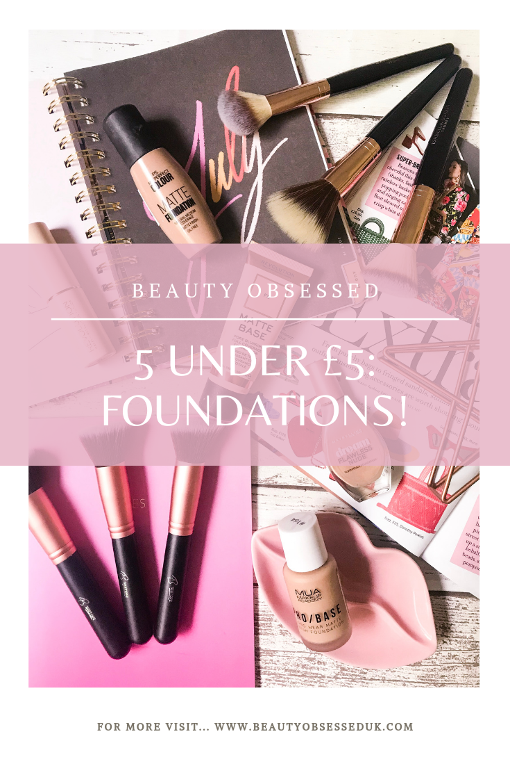 5 Under £5: Foundations