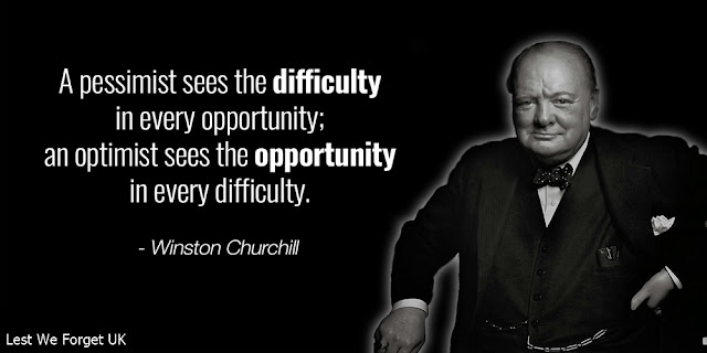 A pessimist sees the difficulty in every opportunity; and optimist sees the opportunity in every difficulty.