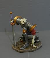 modellini statuette fatte a mano introvabili protagonista videogioco orme magiche