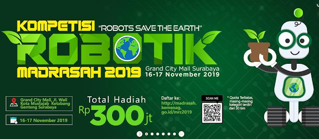 Kompetisi Robotik Madrasah Ke- 5 Tahun 2019