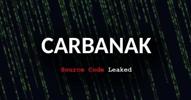 Source Code for CARBANAK Banking Malware Found On VirusTotal