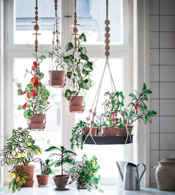 ANVÄNDBAR Macrame Hanging plant holder