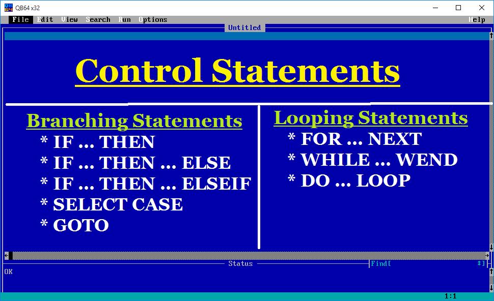 Qb64 Programs