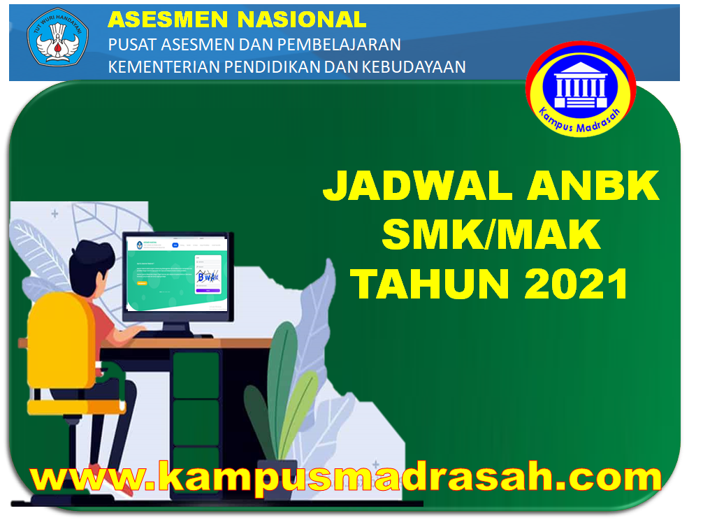Jadwal Pelaksanaan ANBK Jenjang SMK/MAK