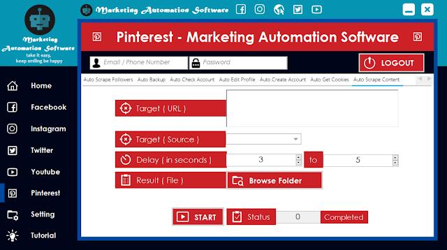 Cara Cepat Mengambil Konten Postingan Pinterest Secara Automatis