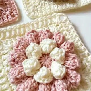 Granny Flor a Crochet