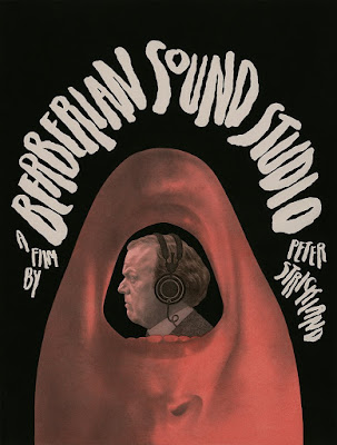 Berberian Sound Studio Screen Print by Edward Kinsella x Mondo x Black Dragon Press