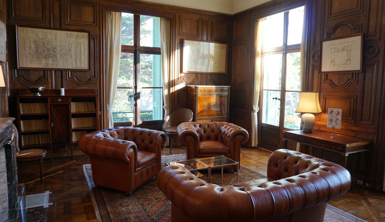 Inside Villa Eilenroc