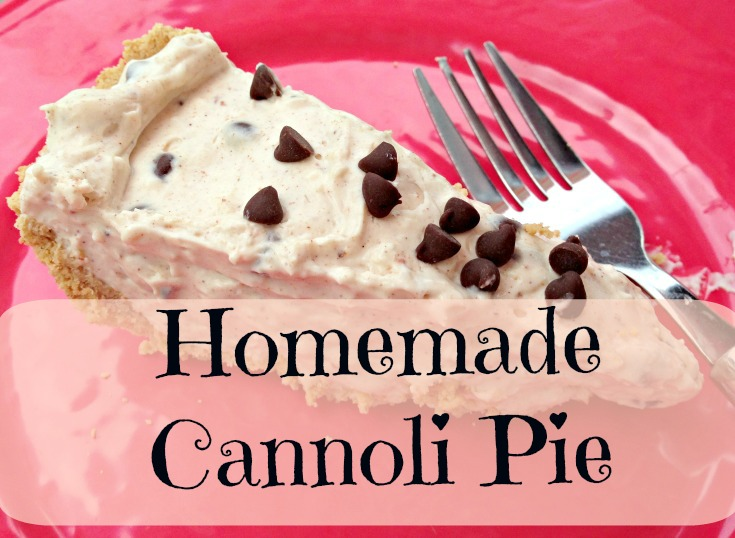 Homemade Cannoli Pie with a twist (Gay Lea Cottage Cheese)