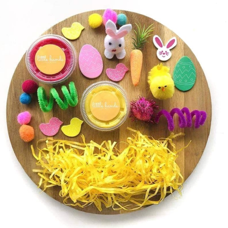 easter sensory play kit from etsy