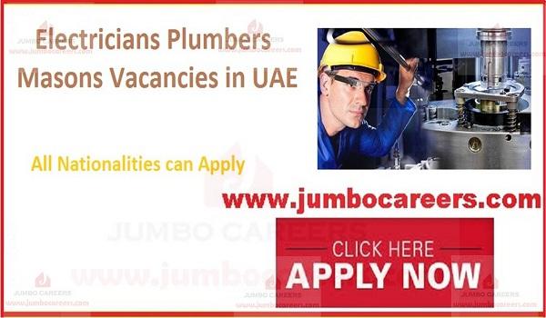 UAE vacancies, New job openings in Gulf countries,