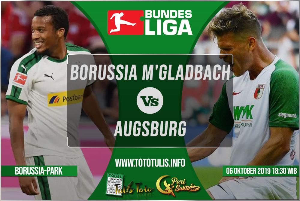 Prediksi Borussia Monchengladbach vs Augsburg 06 Oktober 2019
