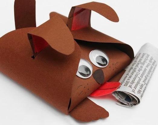 Cajitas de regalo con moldes para niños
