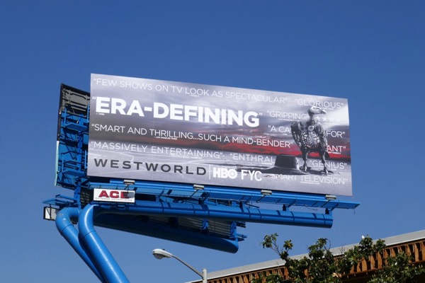 Westworld 2018 Emmy FYC billboard