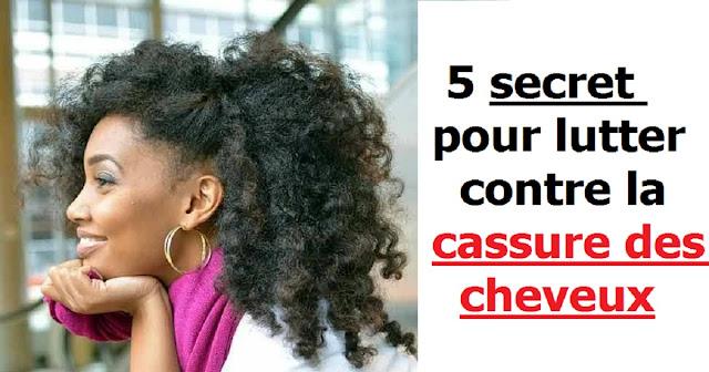 5 secret pour lutter contre la cassure des cheveux