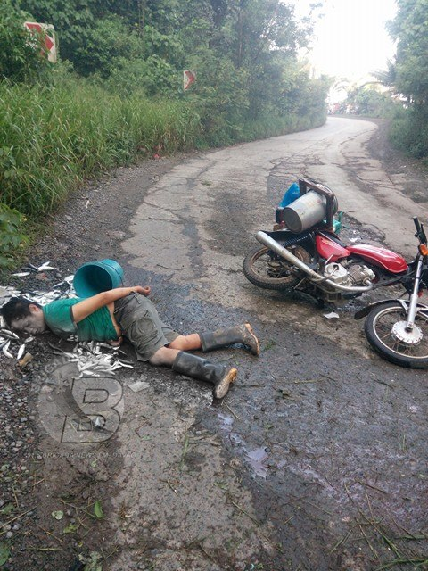 BREAKING NEWS: An Innocent Fisherman Was Affected By the Clash Between the AFP and the NPA in Davao!