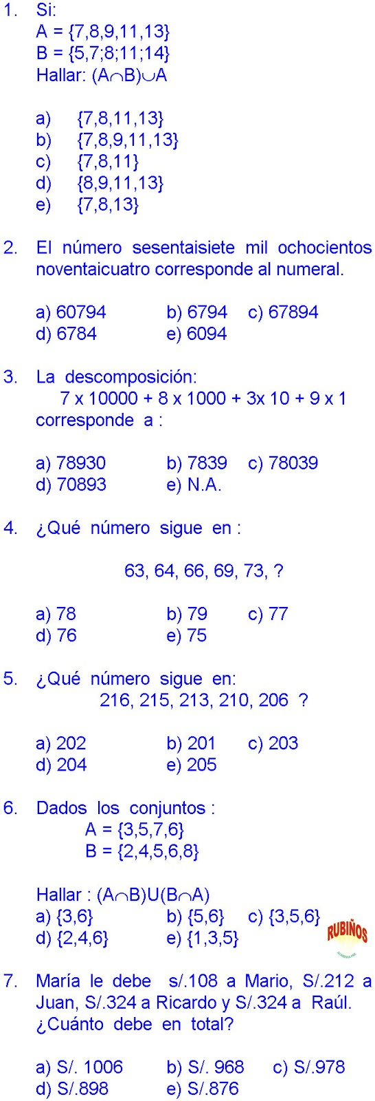 MATEMATICAS PROBLEMAS RESUELTOS DE CUARTO DE PRIMARIA PDF