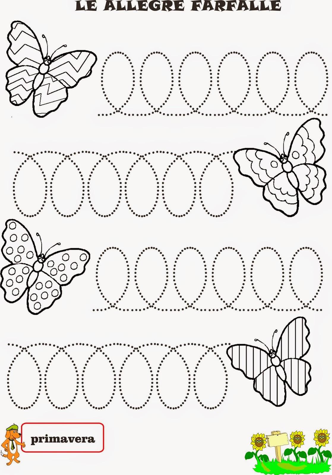 A Scuola Con Poldo Una Storia Primaverile La Farfalla E La Lumachina