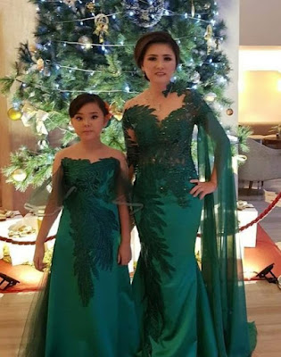 Matching outfits for Mom and daughter