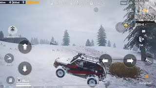 Pubg Mobile MP5K Zima Vehicle