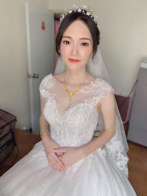 台中新秘懿庭  新秘推薦  白紗