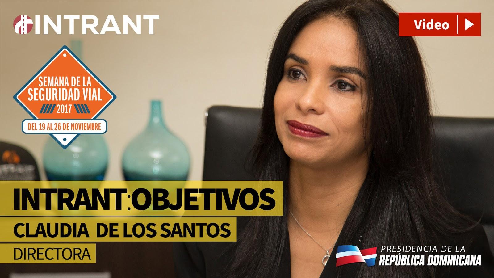 VIDEO: INTRANT: Objetivos. Claudia De Los Santos.