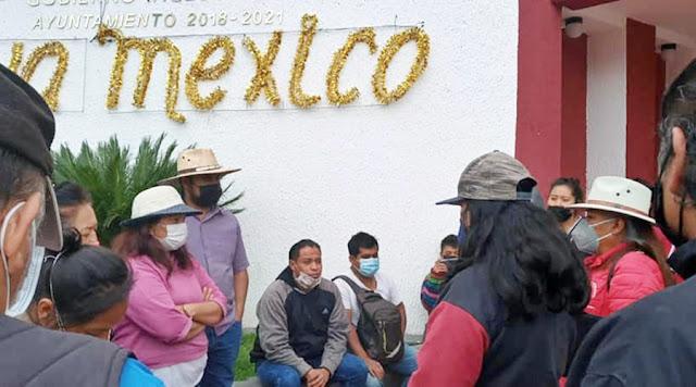 Sin agua potable unidad de Cuautlancingo, vecinos exigen a la alcaldesa de Morena de solución