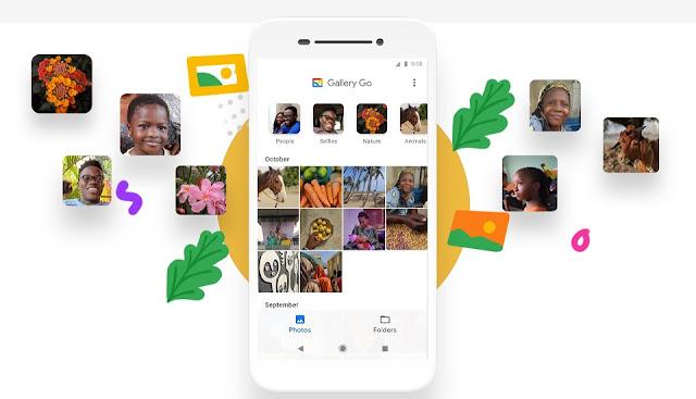 ميزات تطبيق معرض الصور Google Gallery Go