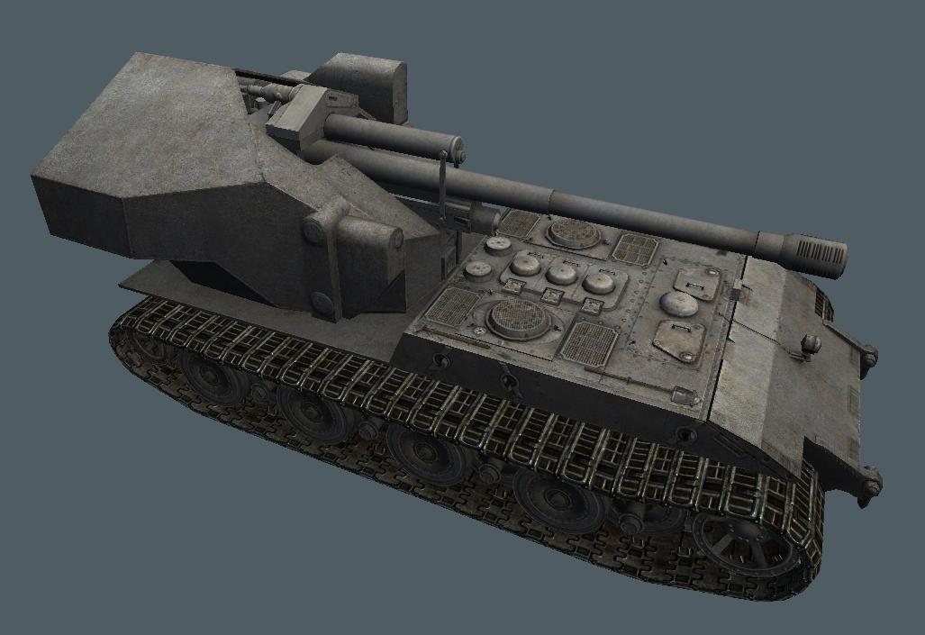PlazmaKeks World Of Tanks: Waffentrager E-100