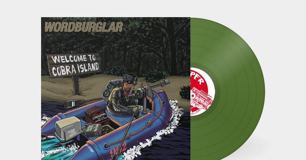"Wordburglar's G.I. Joe Inspired ""Welcome to Cobra Island"" Album Gets Vinyl Campaign"