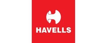 Havells logo.